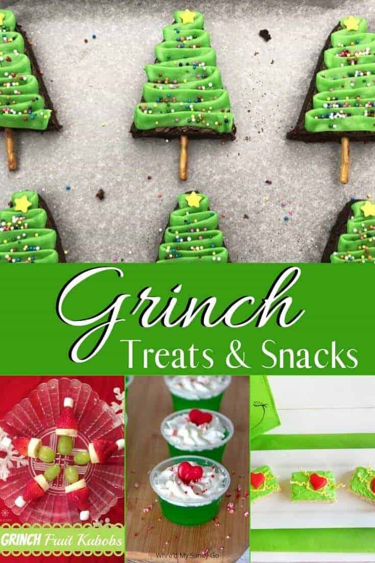 Grinch Christmas Desserts & Snacks that Will Grow Your Heart
