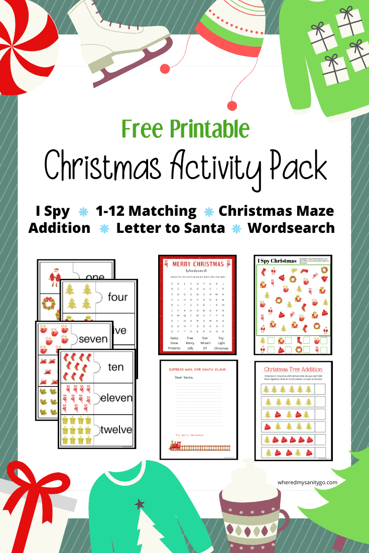 Fun Christmas Worksheets for Elementary