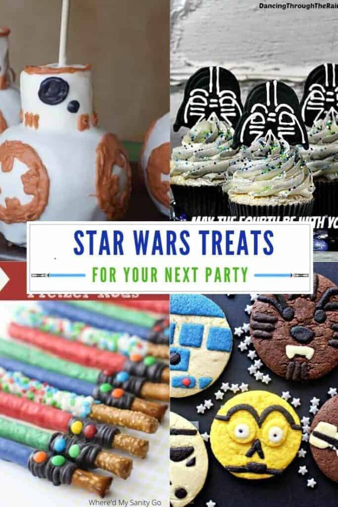 Fun Star Wars Treats and Snacks To Make with Kids