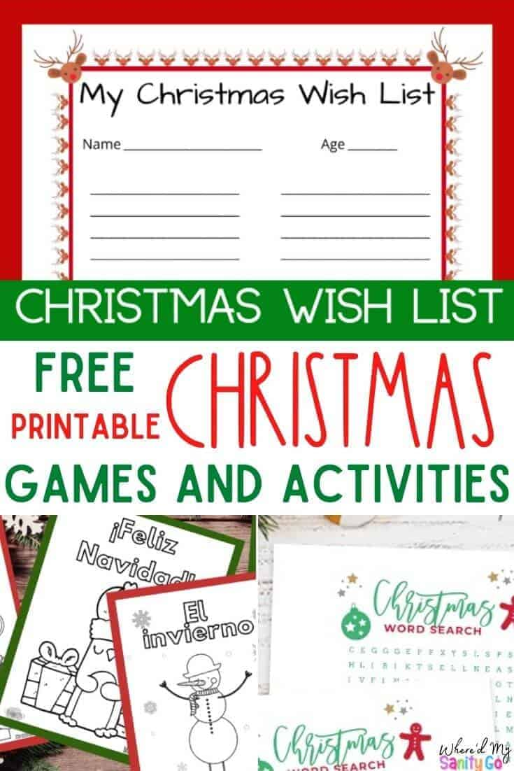 Ultimate Jolly List of Christmas Activity Sheets