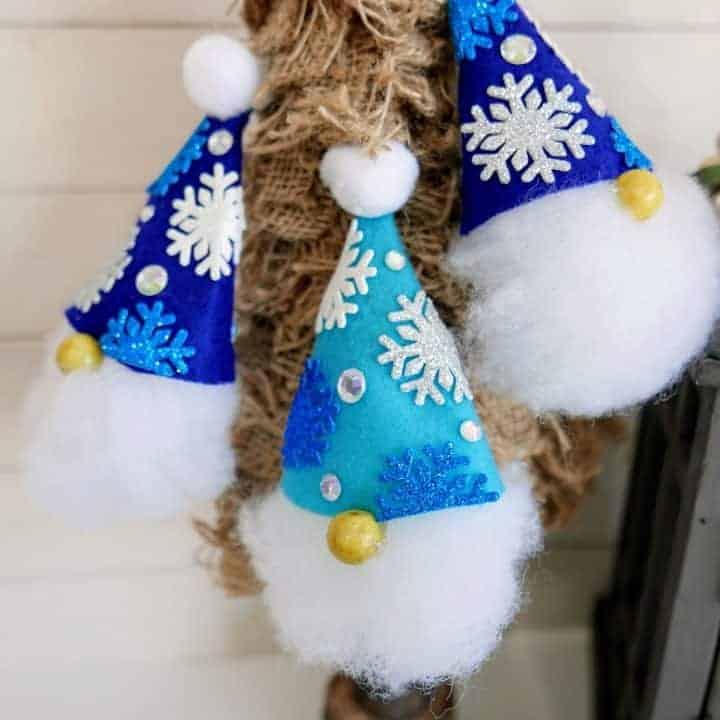 easy gnome ornament craft