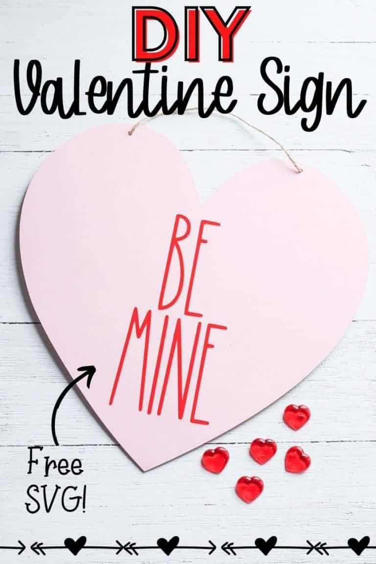 Rae Dunn-Inspired DIY Valentine Sign