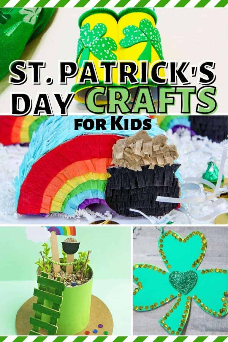 Cute & Easy St. Patrick's Day Crafts for Kids