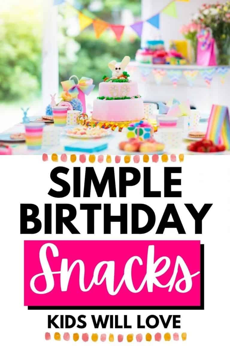 Easy Snacks for Kids Parties