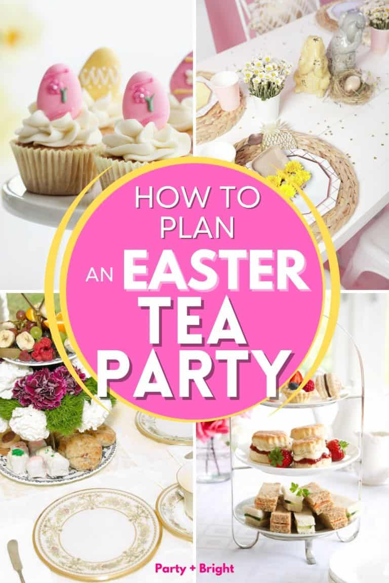 How to Plan a Springtime Easter Tea Party