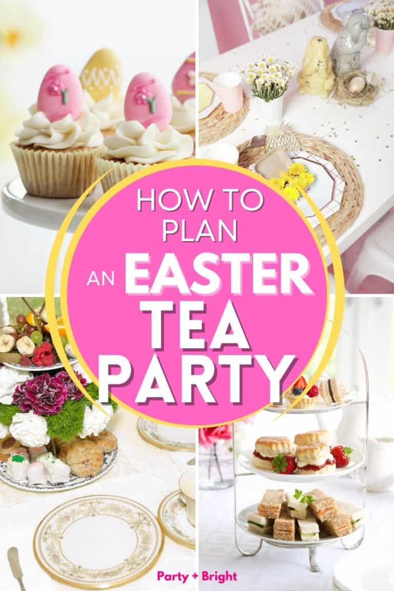 How to Plan a Springtime Easter Tea Party