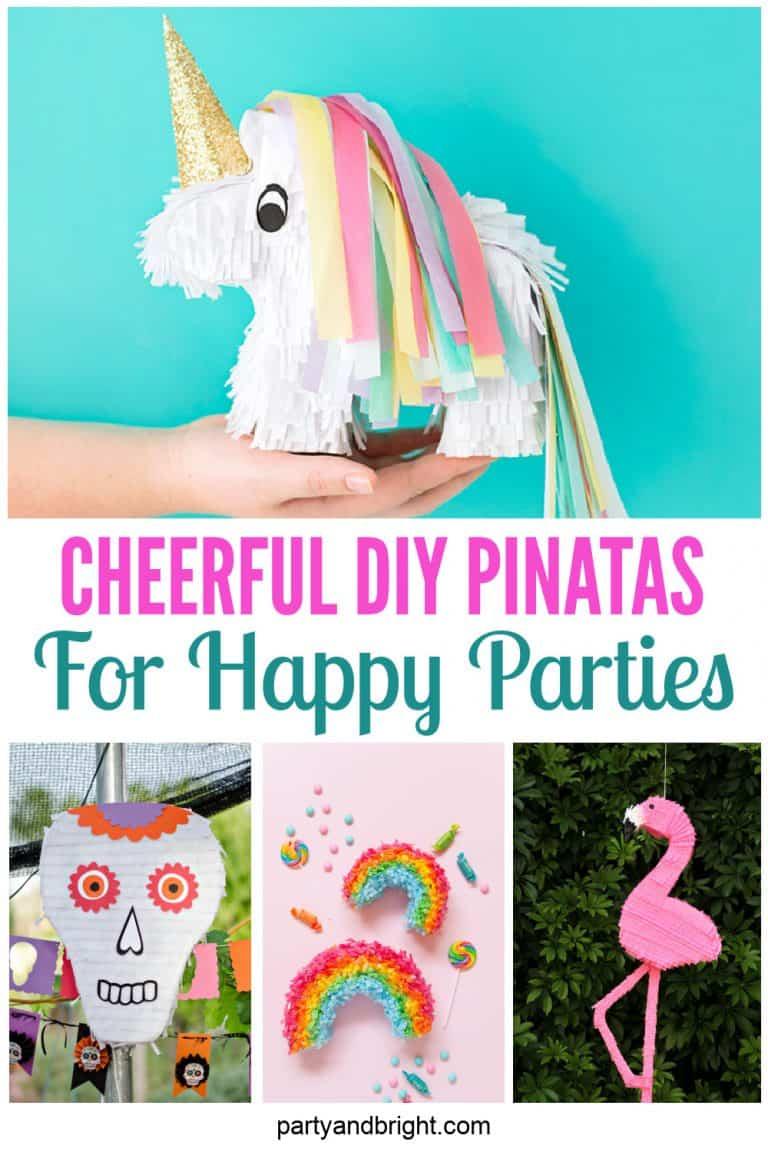 15 COOL Homemade Pinata Ideas (DIY Pinatas Perfect for ANY Party)