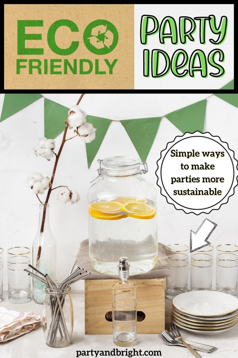 How to Throw an Eco Friendly Party