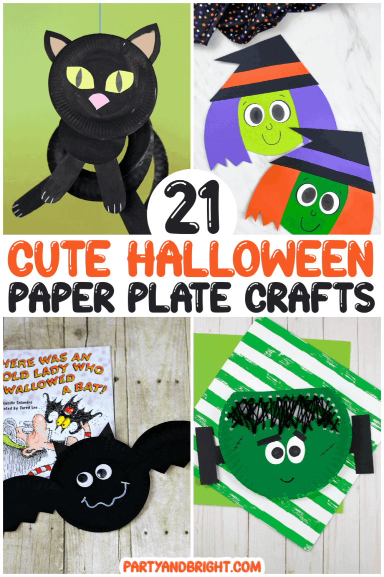 21 Incredible Halloween Paper Plate Crafts for Kids