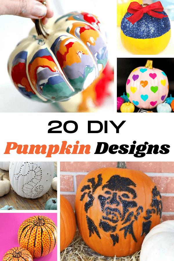 20 Incredible DIY Pumpkin Designs: Halloween Pumpkin Ideas to Try