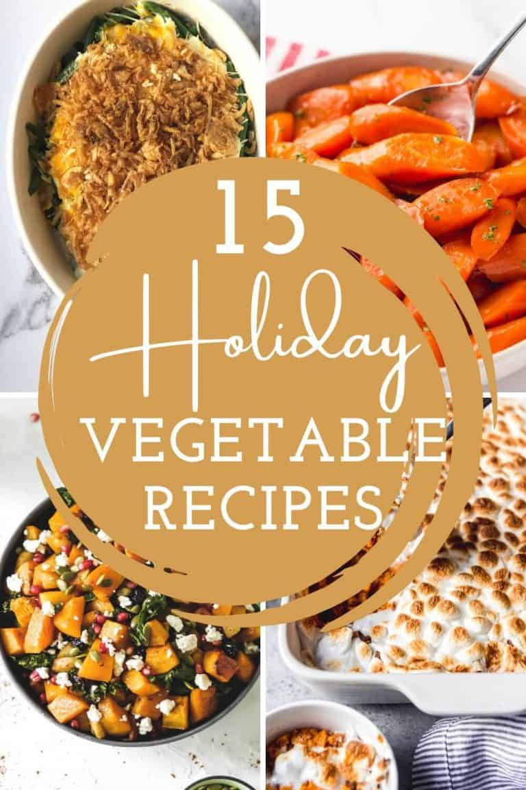 Holiday Vegetable Recipes