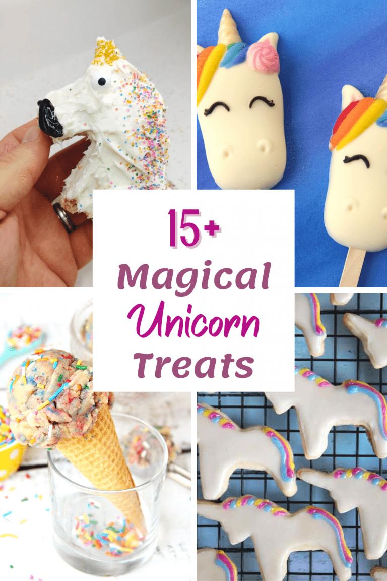 15+ Magical Unicorn Party Treats