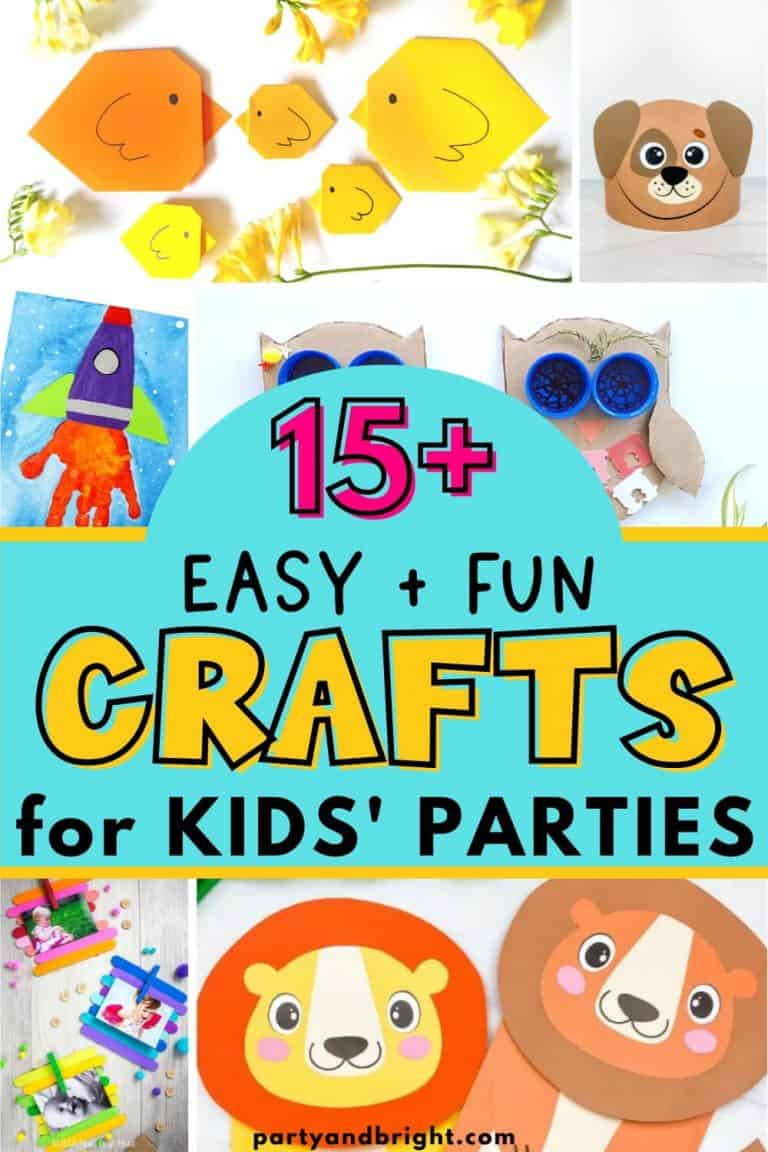 Easy & Fun Party Crafts for Young Children